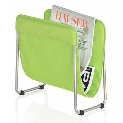 Blomus Levio Magazine Rack Green