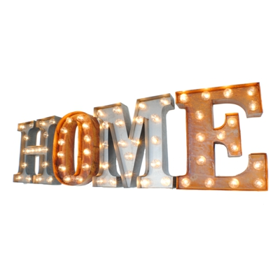 Home Illuminated Carnival Vintage Letter Lights