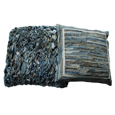 Dreamweavers Denim Recycled Blue Jean Cushions