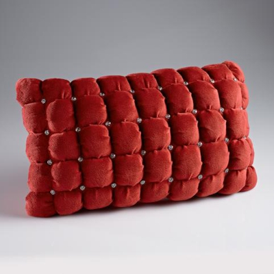 Dreamweavers Swarovski Italian Bolster Cushion