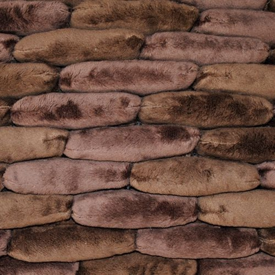 Dreamweavers Brown Chamois Cobble Rug