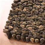 Dreamweavers Chocolate Chamois Pebble Rug