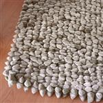 Dreamweavers Taupe Chamois Pebble Rug