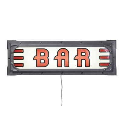 Kare Wall Light Auto Bar Sign