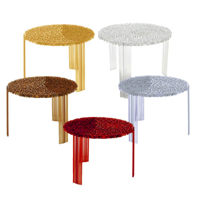 Uk kartell t table small side table at contemporary heaven for Small modern side table