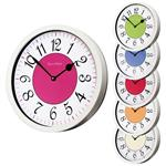 Roco Verre Modern Vintage French Wall Clock White