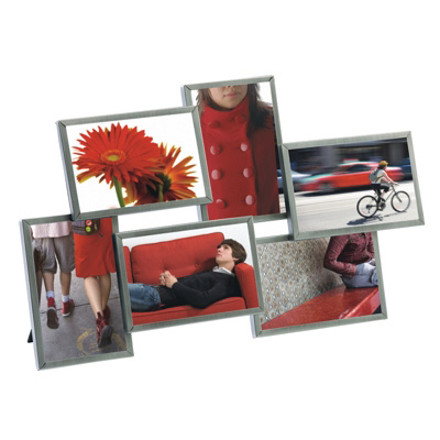 Umbra Flo Six Picture Photo Frame