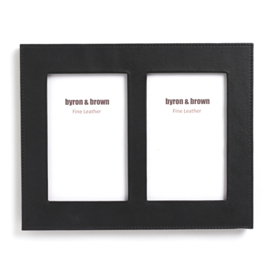 Byron & Brown Classic Leather Black Multi Frame
