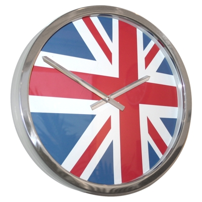 Roco Verre Giant UK Flag Clock