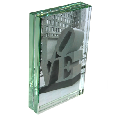 Roco Verre Classic Thick Glass Photo Frame 6x4 V