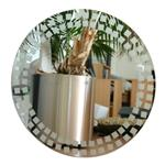 FROSTED GLASS WALL MIRRORS