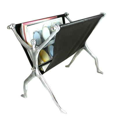 Carrol Boyes Magazine Rack Brown