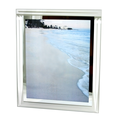 uk bevelled glass photo frame