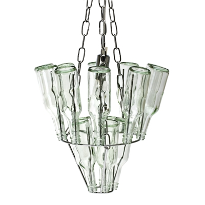 Leitmotiv Bottle Chandelier
