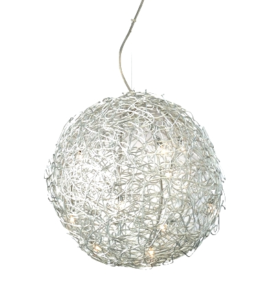 Mesh Ball Pendant Light