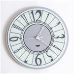 Arti & Mestieri Ring Piccolo Wall Clock Silver
