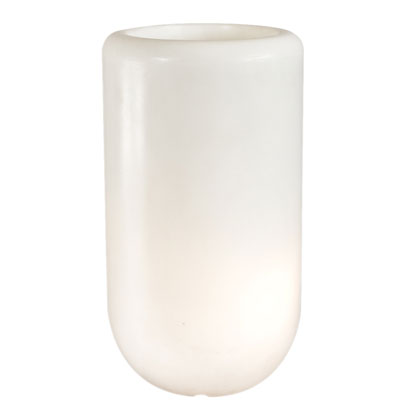 BLOOM! Pill Illuminated Planter White