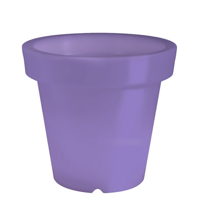 BLOOM! Pot Illuminated Planter Purple