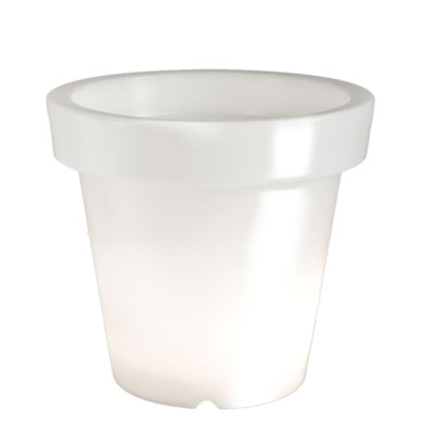 BLOOM! Pot Illuminated Planter White
