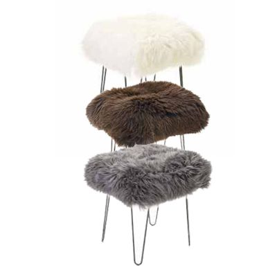 BaaStool Sheepskin Stool Foot Rest