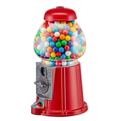 Balvi Gumball Machine Red