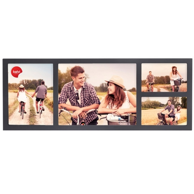 Balvi Bauhaus Multiple Photo Frame Grey