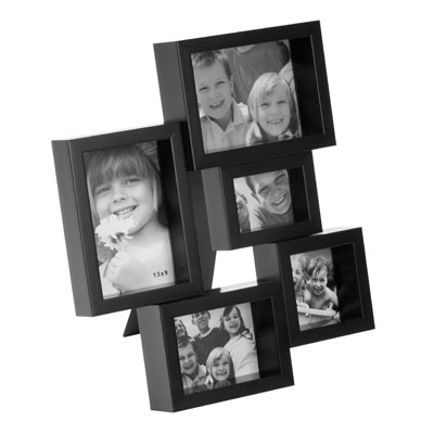 Balvi City 5 Aperture Photo Frame