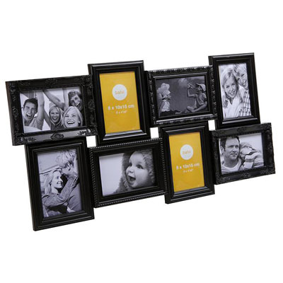 Balvi Magic 8 Aperture Frame Black