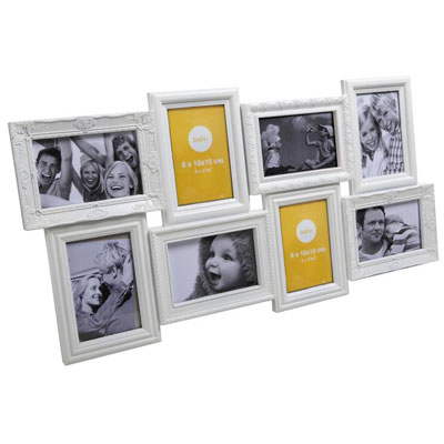 Balvi Magic 8 Aperture Frame White