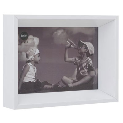 Balvi Angle Photo Frame White