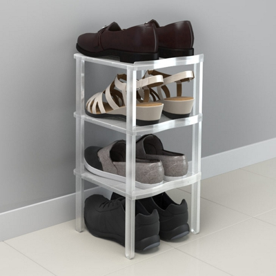 Balvi Shoe Rack White