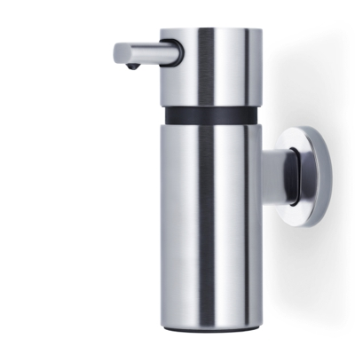 Blomus Areo Brushed Wall Soap Dispenser