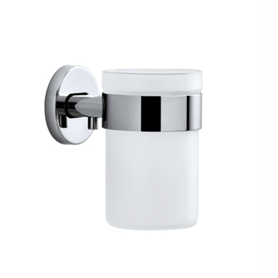Blomus Areo Polished Toothbrush Holder Glass