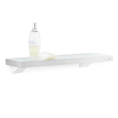 Blomus Brushed Stainless Steel & Glass Shelf