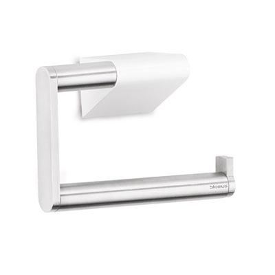 Blomus Brushed Steel Wall Toilet Roll Holder