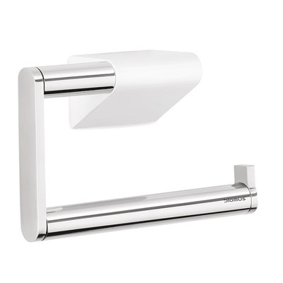 Blomus Polished Steel Wall Toilet Roll Holder