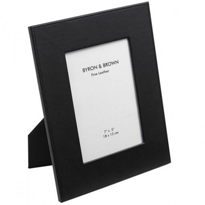Byron & Brown Classic Leather Black Frame