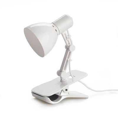 Clamp Lamp White USB