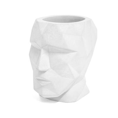 Head Pen Holder White