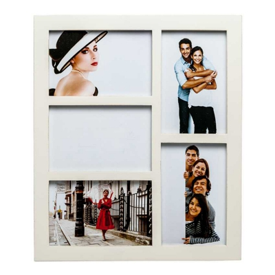 Gallery Cream Five Aperture Multi Photo Frame
