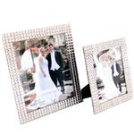 Crystal Silver Photo Frame