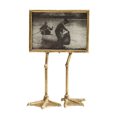 Duck Feet Vintage Photo Frame Gold