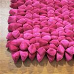 Dreamweavers Pink Chamois Pebble Rug