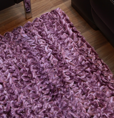 Dreamweavers Ripple Rug Purple