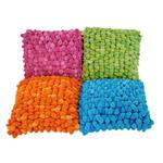 Dreamweavers Chamois Bright Pebble Cushions