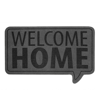 Balvi Welcome Home Door Mat Grey