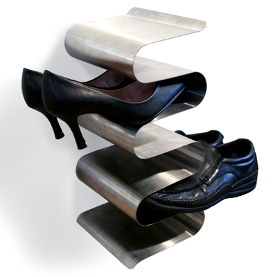 J Me Wall Mountable Nest Shoe Rack