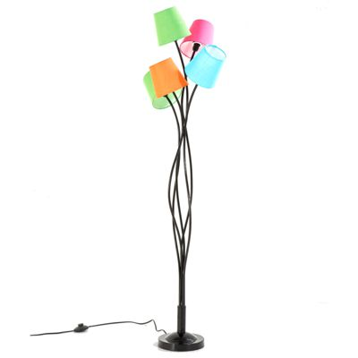 Kare Floor Lamp Flexible Cinque Colore