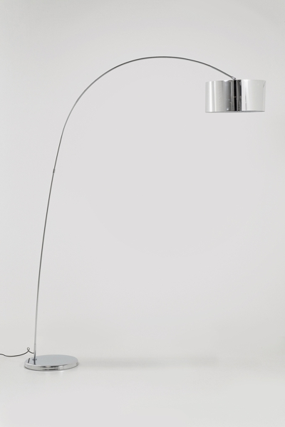 Kare Gooseneck Floor Lamp Chrome