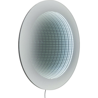 Kare LED Infinity Wall Round Mirror